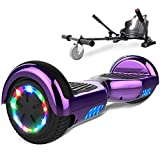 SOUTHERN-WOLF Hoverboard go Kart, Self Balance Scooter with Hoverkart 6.5...