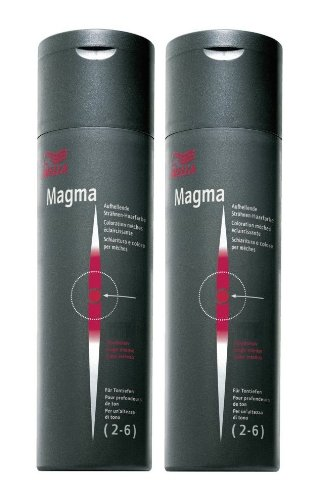 Wella Magma /57 mahagoni-braun 2 x 120 g Aufhellende Strähnen-Haarfarbe