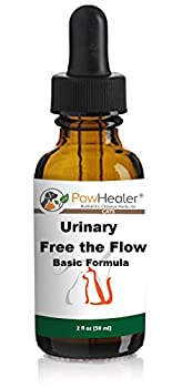 PawHealer Cat Bladder Remedy for Stones & Crystals  2 fl oz  59 ml  - Urinary Free The Flow - Basic - Works Great for Over 10 Years in The Herbal Business …