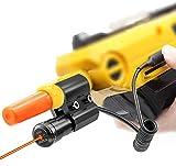Megwoll Laser Sight for Salt Gun 2.0 3.0,Red Laser Bug Fit All Airsoft BB Pump's Accessories