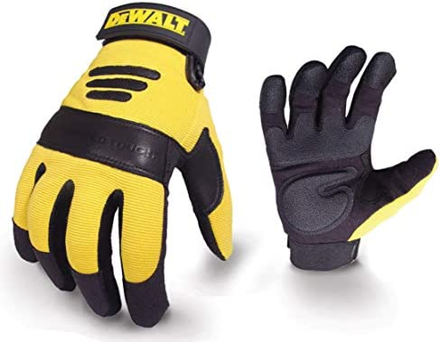 DeWalt Performance 2 Power Tool Glove - Black/Yellow, Large