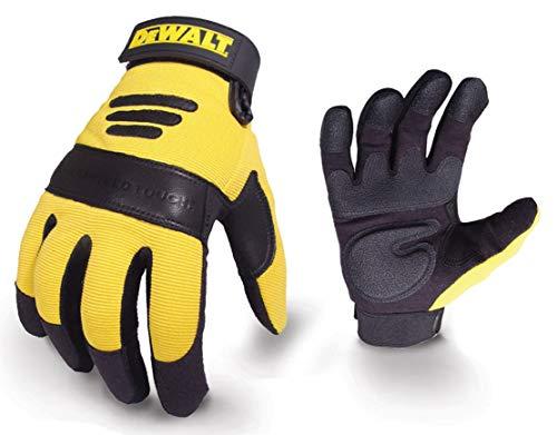 DeWalt Performance 2 Power Tool Glove - Black/Yellow, Larg