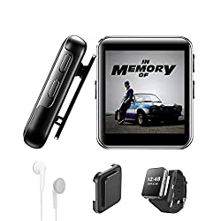 Image of 16GB Clip MP3 Player with...: Bestviewsreviews