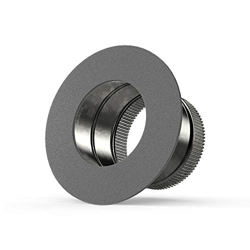 AC Infinity 6' Ducting Take-Off Collar, Galvanized Steel Inlet Flange...