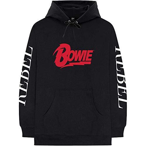 David Bowie Rebel Rebel Officiel Vestes à Capuches (Large)