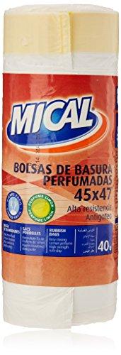 Mical - Bolsas de basura perfumadas - 45x47 - 40 unidades