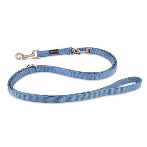 WOLTERS Führleine Professional versch. Größen und Farben, Farbe:Riverside Blue, Größe:M 300 cm x 15 mm (extra lang)
