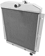 NEW FROSTBITE ALUMINUM RADIATOR,2 ROW,FITS 47-54 CHEVY TRUCK,SUBURBAN,PANEL,L6,217-261