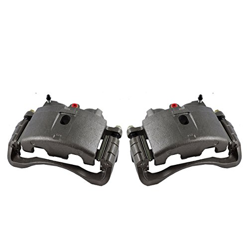 Callahan CCK11451 [2] FRONT Premium Grade OE Semi-Loaded Caliper Assembly Pair Set