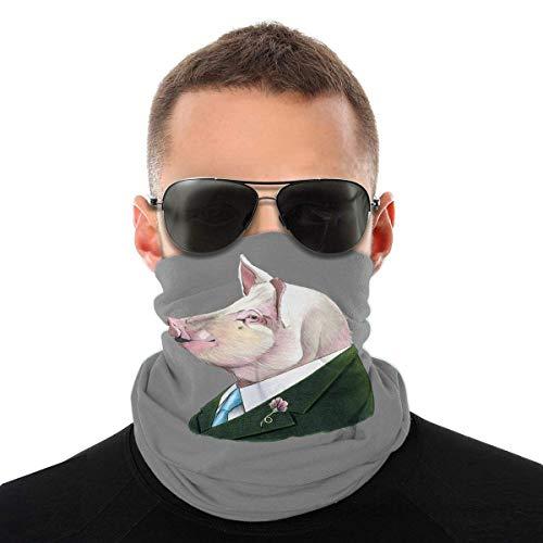 Nother Lindo oso polar divertido disfraz de animal bufanda cara cara lavable antipolvo, pasamontaas cuello bandana mujer pauelo cabeza bufandas y envolturas