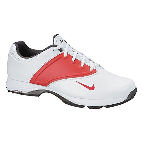 Nike, Scarpe da Golf Donna Bianco Weiß-Rot 38