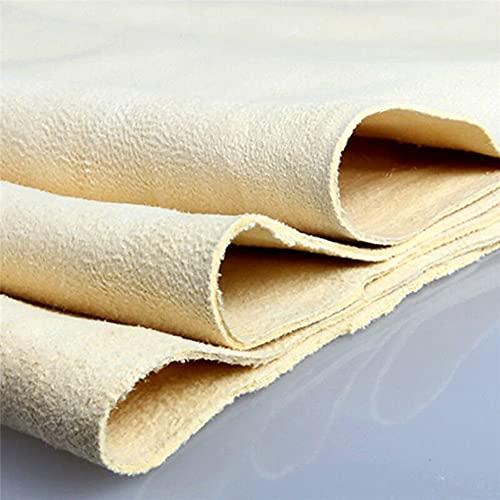 40x30cm coche lavado toalla gamuza cuero paño de limpieza fuerte absorción coche lavado accesorios desgaste
