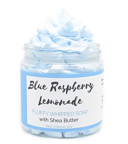 Blue Raspberry Lemonade Whipped Soap | Homemade Soap | Shave Soap | Body Wash |