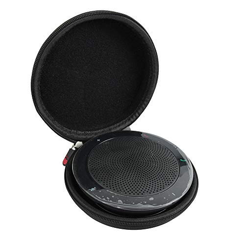Hermitshell Hard EVA Travel Case fits Jabra Speak 410/510 USB Conference UC Speakerphone Wireless Bluetooth Speaker