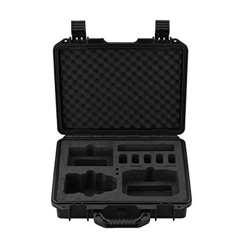 Hunpta @ wasserdichte Koffer für DJI Mini 2, Explosionsgeschützter Tragbar Tasche, Handtasche mit Eva Stoßfestes Futter Reise Aufbewahrungstasche Drohne Schutz Zubehör, 35,5x30,5x10,5 cm