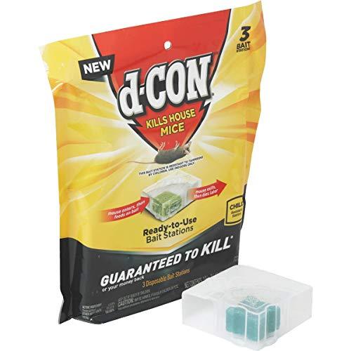 d-CON Mouse Poison Bait Station