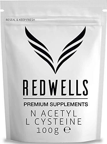 REDWELLS 100g Reines N Acetyl L Cysteine NAC Pulver Antioxidant