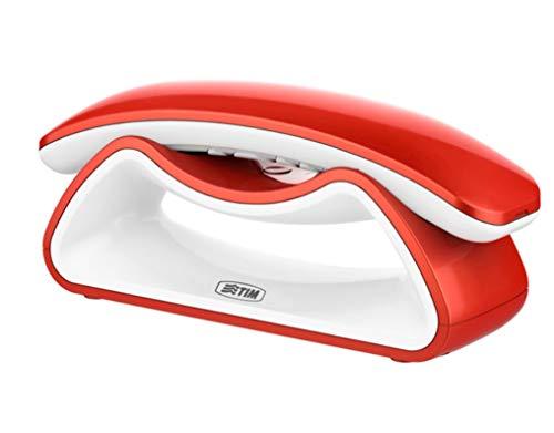 Tim Facile Smile téléphone sans Fil, Rouge/Blanc