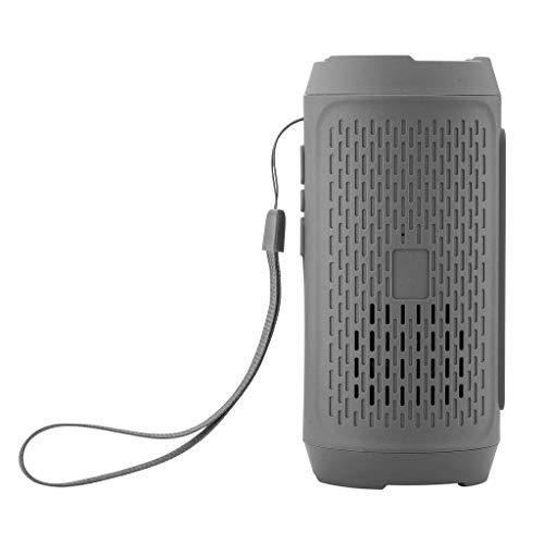 Cyond Altavoz Portátil Mini Inalámbrico Bluetooth Radio FM Altavoz Altavoz para PC/iPhone X / 8 Plus / 8/7 Samsung Galaxy Note 8 / S8 / S7 / MacBook Air/Pro