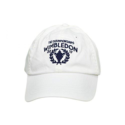 Ralph Lauren - Berretto da uomo Wimbledon bianco bianco Taglia Unica