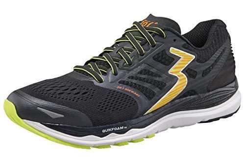 361° Herren Laufschuhe Sportschuhe Meraki, Schuhgröße:US 11 1/2 / EU 46, Farbe:Ebony/Black