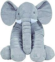 Almofada Elefante Gigante, Buba, Cinza