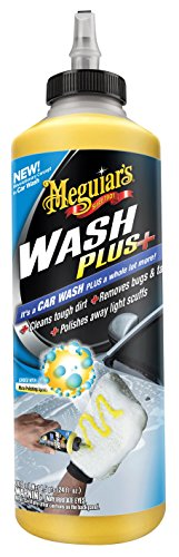 Meguiar's Car Wash Plus+ 709ml Heavy Duty Car Shampoo