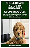 THE ULTIMATE GUIDE TO MINIATURE GOLDENDOODLES: The Concise Guide on...