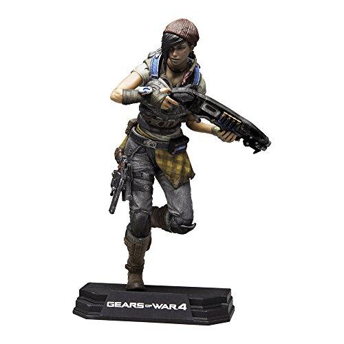 Gears Of Wars 12007-3 4 Kait Diaz Figurine colorée 17,8 cm