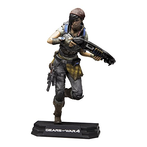 Gears Of Wars 12007-3 4 Kait Diaz Figurine colorée 17,8 cm