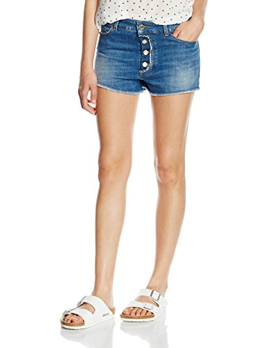 Armani Jeans Damen C5J171H Short, Blau (Denim 15), W29