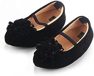 FemmeStopper Flower 12-18 Months(14cm) Born Infant Baby Girls Shoes First Walker 2 Year Baby Girl Shoes