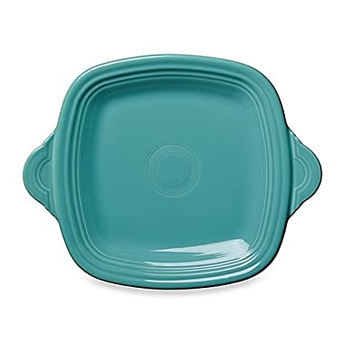 Fiestaware 13.5  Handled Serving Tray - Turquoise
