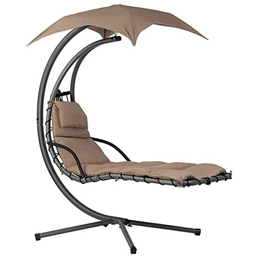 ZXYY Sun loungers Rocking chair Hanging chair Sun lounger with umbrella and cushion