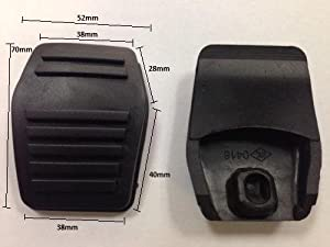 Other New Replacement Foot Brake Pedal Cover Pad Rubber Compatible with Ford Fiesta 1995 2002