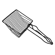 FEMONGY Cat Scoop, 1 Piece Litter Scoop, Cat Litter Scoop, Made of Iron, Strong and Durable, Not Eas...