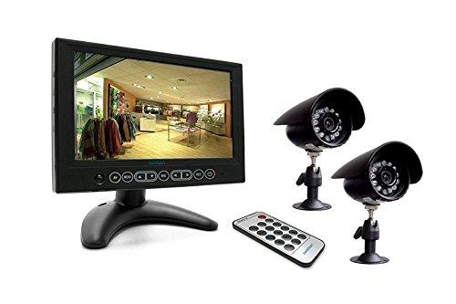 AVIDSEN Videosorveglianza a Colori con Monitor e Dvr Integrato