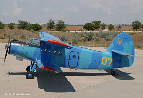 Herpa 559713 Ukrainian Navy Antonov AN-2, miniatuur: Wings/vliegtuig om te verzamelen, meerkleurig