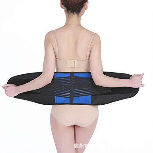 Sport tailleband outdoor fitness sport veiligheidsgordel beschermer blauw zwarte riem