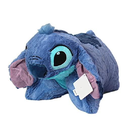 hqycjyoe 50 cm Gigante de Felpa Lilo & Stitch Dibujos Animados Stitch Cosas Suaves Peluche cojín Almohada bebé Regalo de cumpleaños