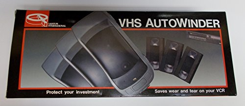 Red Sports Car VHS AutoWinder Model: VHS C-2001A Quantum International
