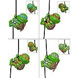 4PC Mini Tortugas Ninja 2014 Película Edición Animado Vinilo Figura 2 Pulgadas