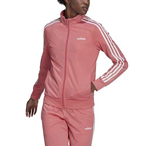 adidas, Mujeres, Essentials Tricot Track Top, Rosa nebulosa, grande