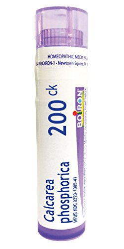 Boiron Calcarea Phosphorica 200C, 80 Pellets, Homeopathic Medicine for Growing Pains