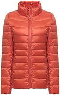 Elonglin Women's Down Puffer Jacket Ultra Light Weight Collar Mao Elegant Coat Packable Warm Windproof Winter