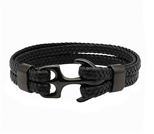 Sieradenarmband geschenken Handgemaakte zwarte armband voor heren en dames sieraden