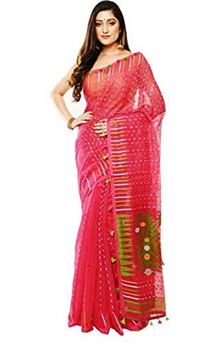 Dhakai Jamdani Handloom SareeHBT17
