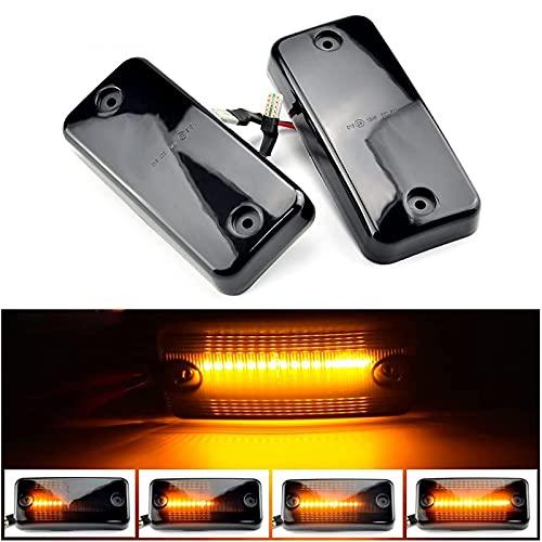 6 x LED Seitenmarkierungsleuchte Begrenzungsleuchte Dynamische LED Blinker Indikator Blinker Seitenmarkierungs Leuchte für Ducato IV-ECO (3 Paar)