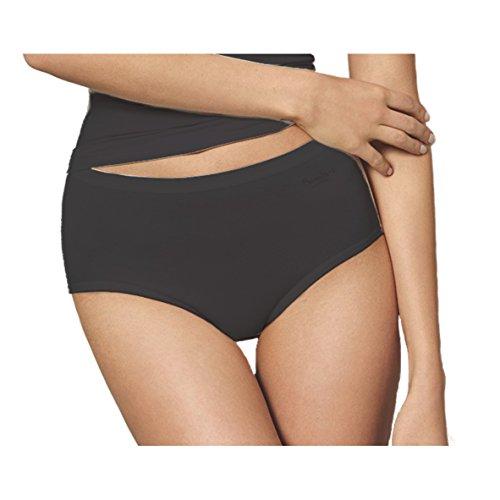 Speidel Damen Bambus Midislip 5er Pack Größe 50, Farbe schwarz