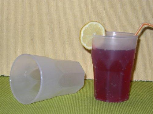 25 Mehrwegbecher Plastikbecher Cocktail Becher